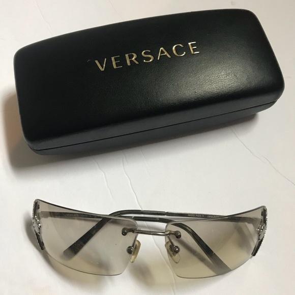 551e8a28d1 Versace Medusa Frames   Eyeglass Case
